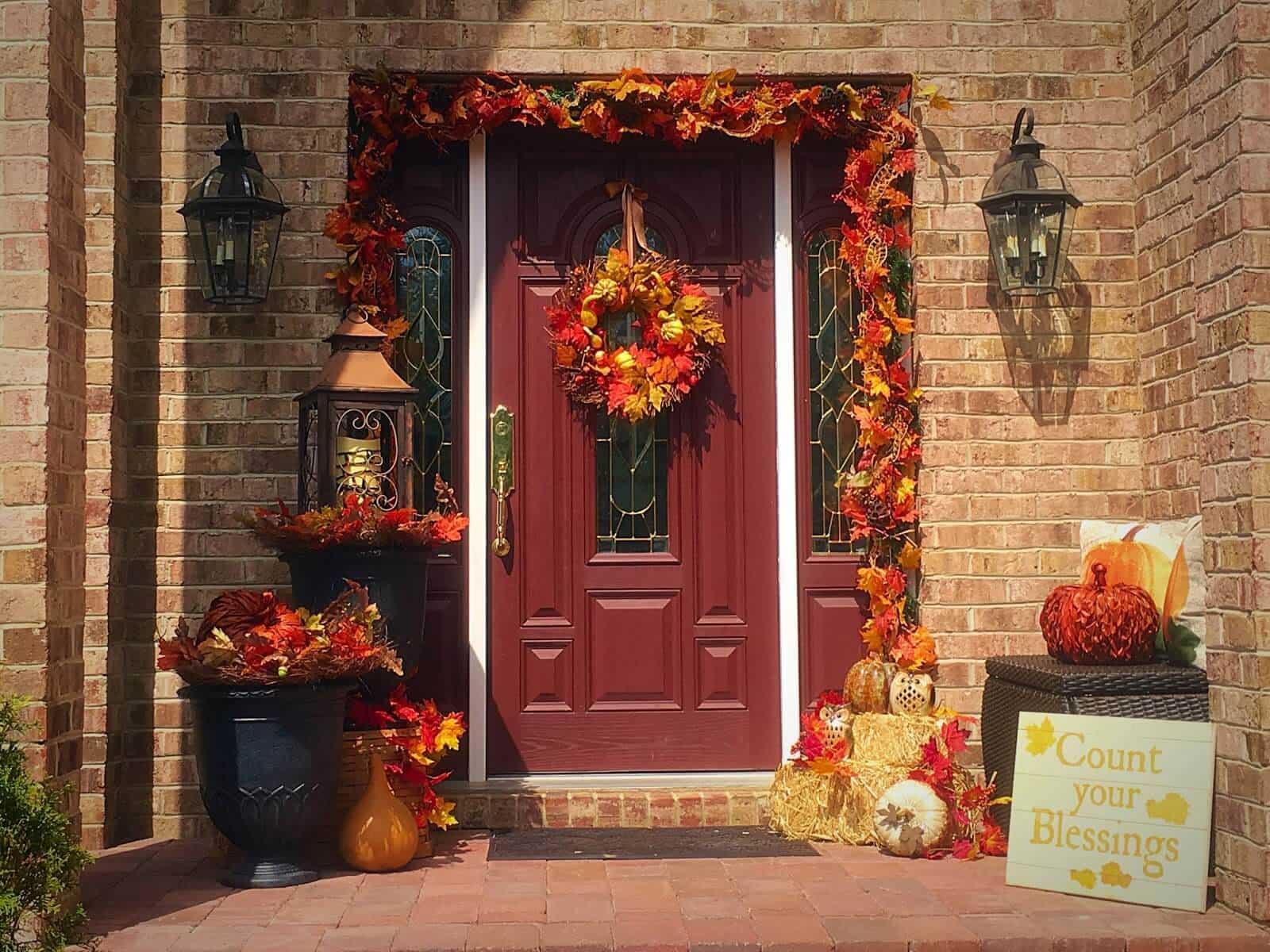 autumn Front Porch 5