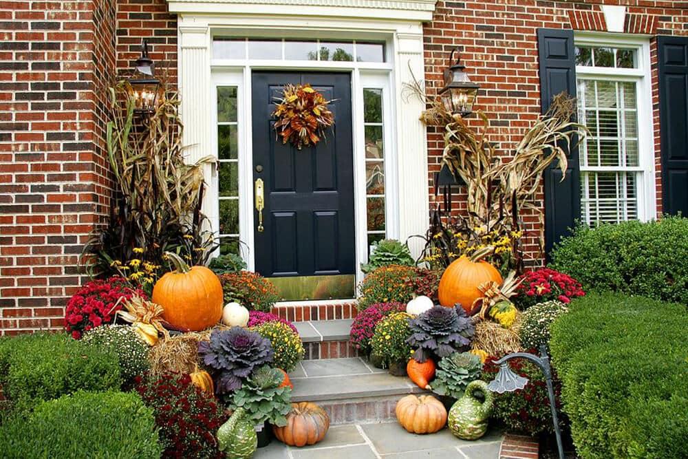 autumn Front Porch 6