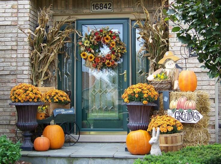 autumn Front Porch 7