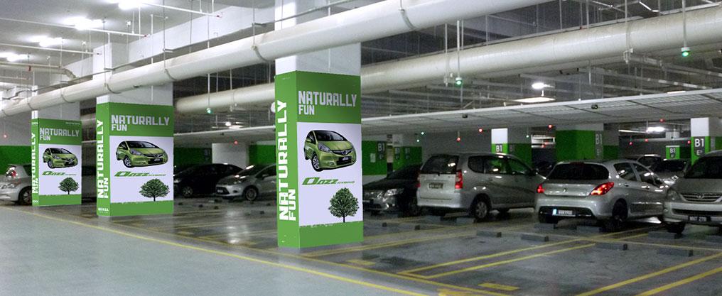 branding In parking