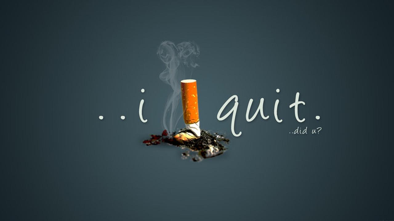 quit cigaretee
