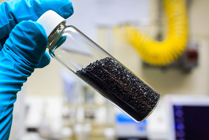 Activated carbon 2