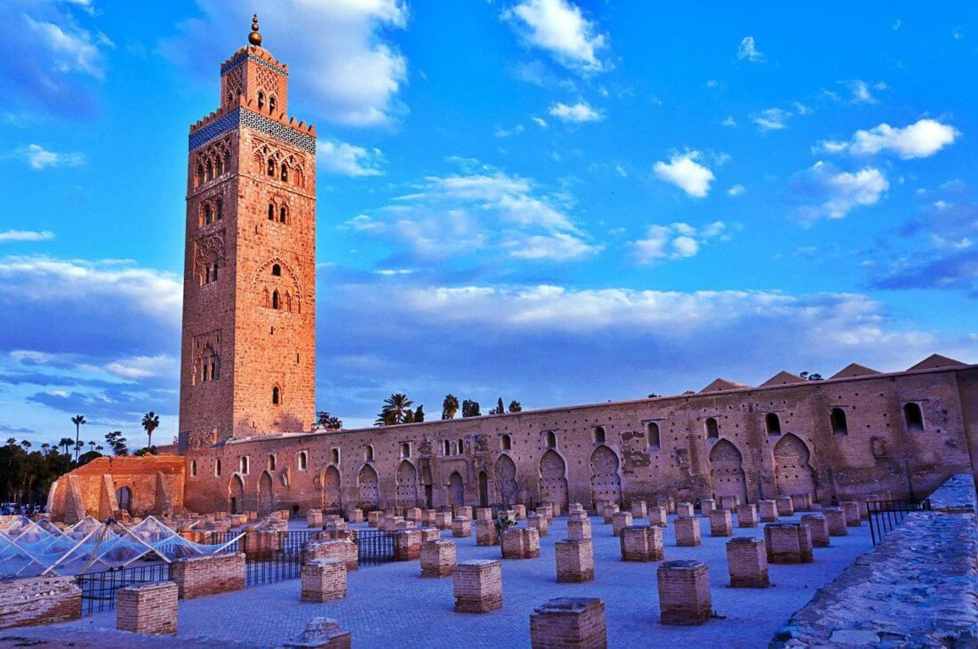 Admire the Koutoubia Mosque