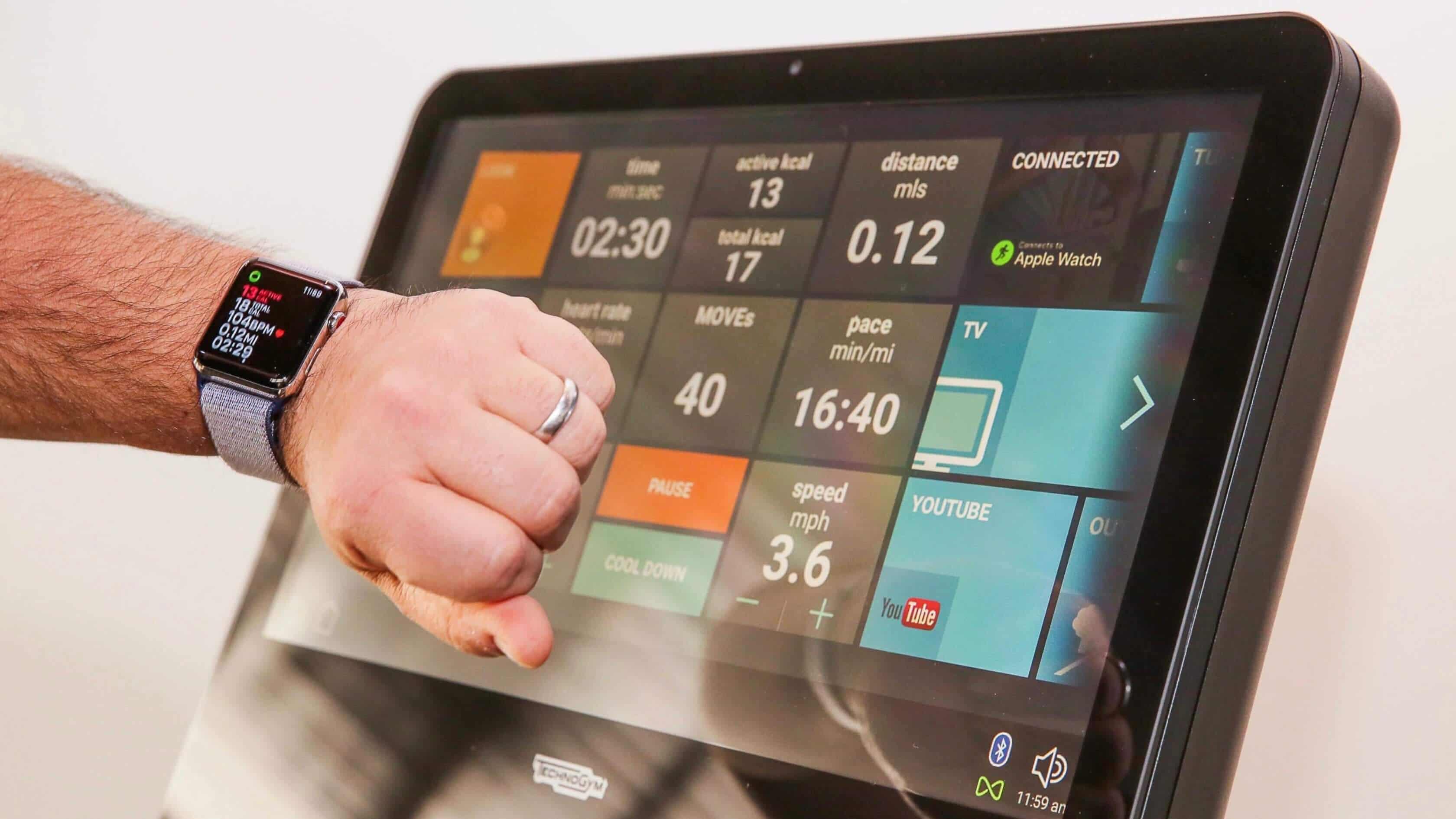 Exercise Bike Digital Display