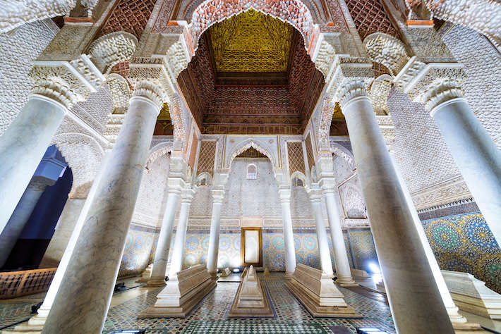 Explore the Saadian Tombs 1