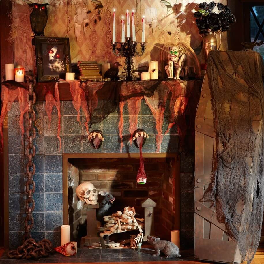 The Scariest Halloween Home Decoration Ideas Of 2019 Live