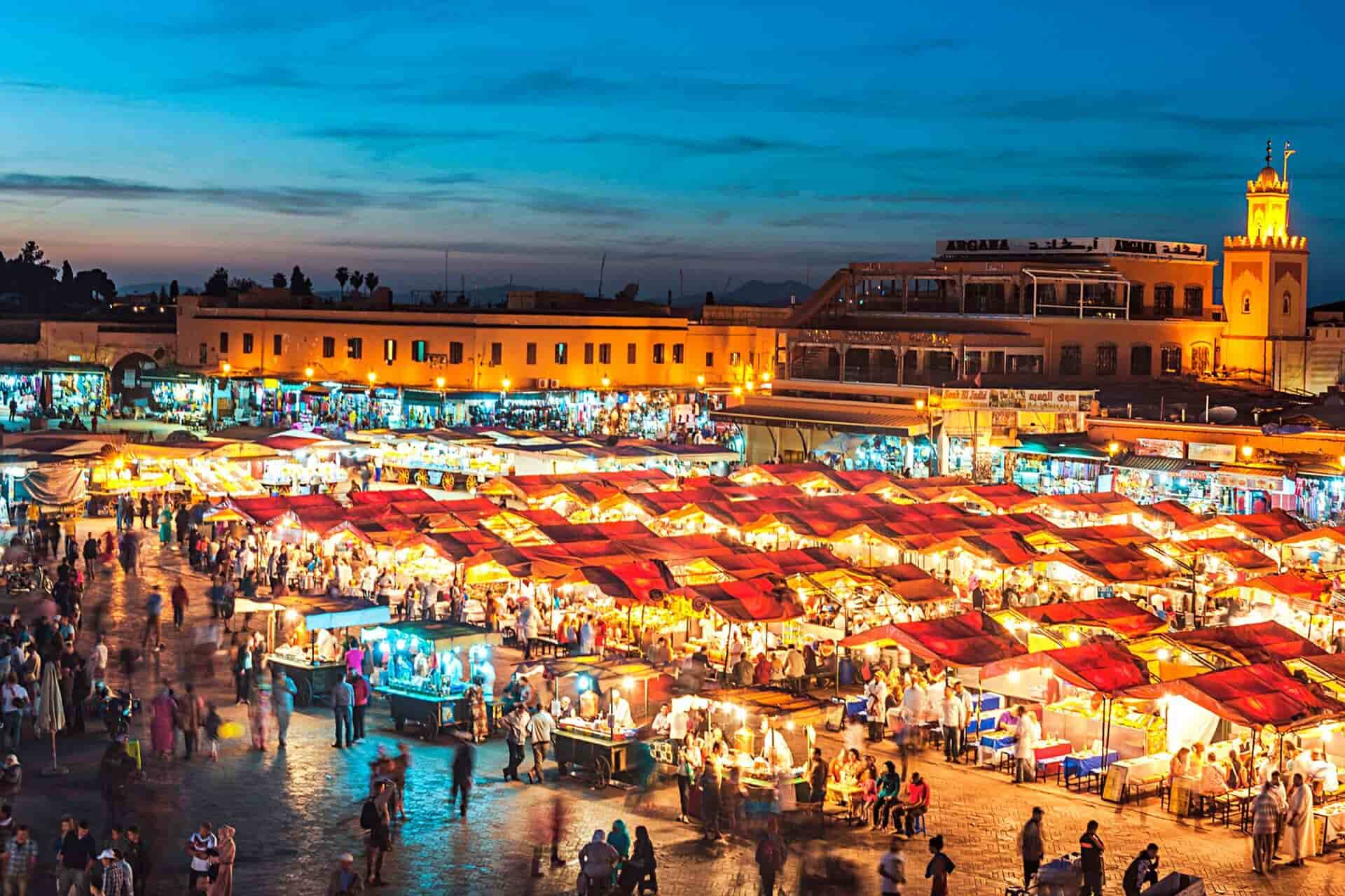 Shop in the Jemaa el-Fnaa