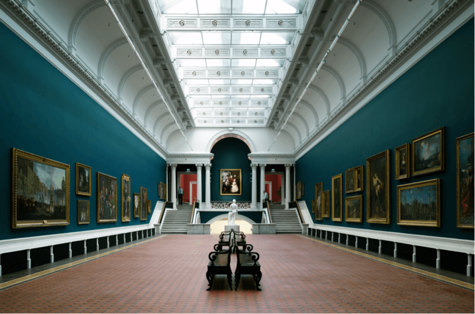 • The National Gallery of Ireland of dublin