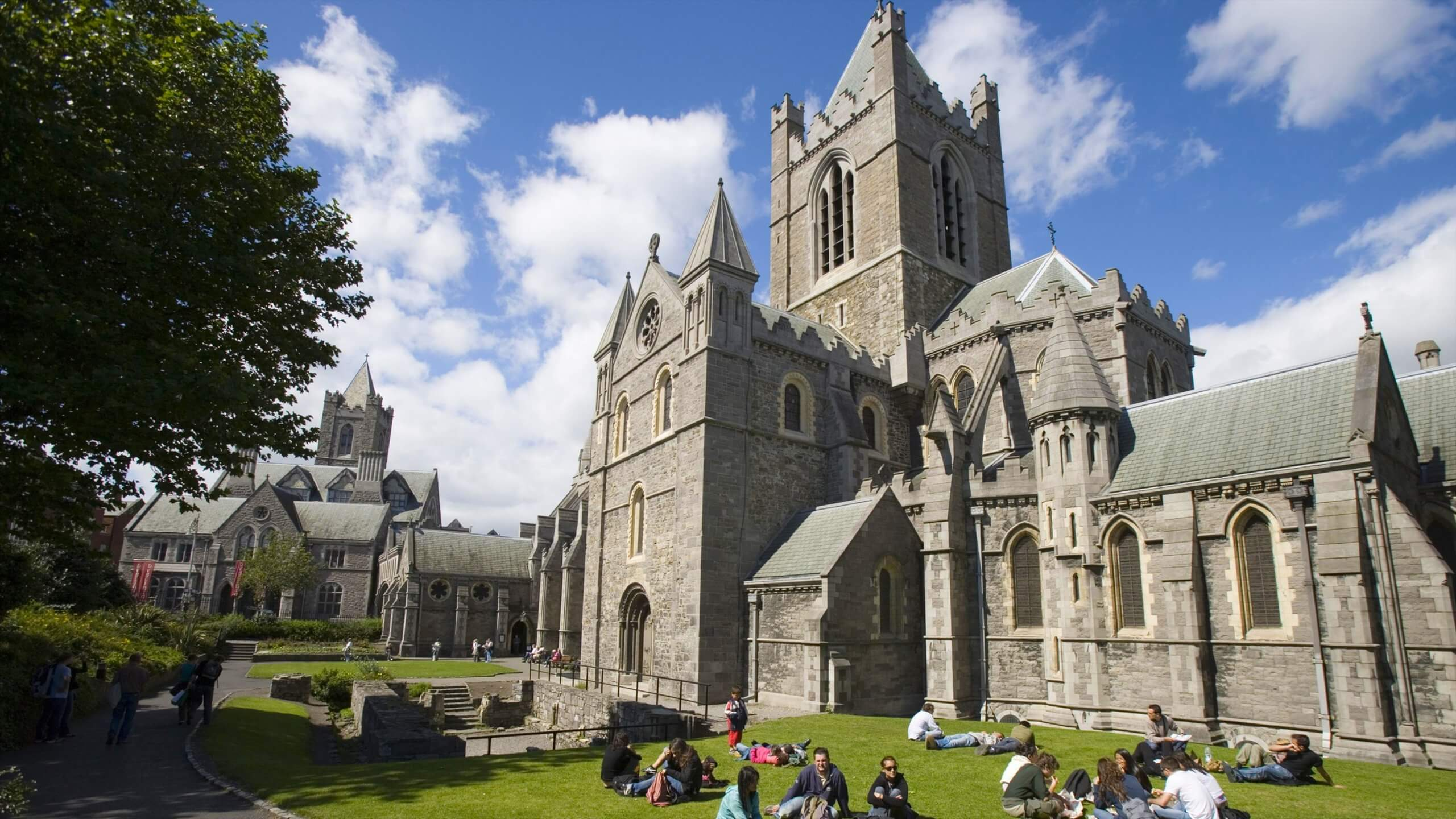 • Stop by the St. Patrick's Cathedral and Christ Church Cathedral