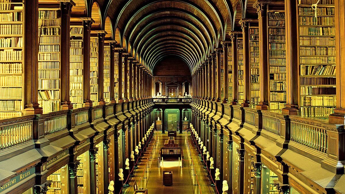 College Library in dublin