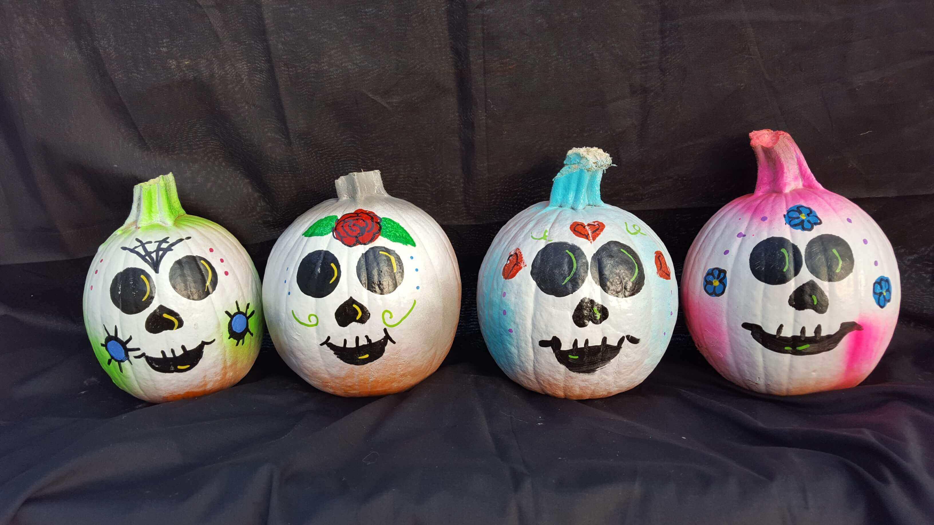pumpkin paint