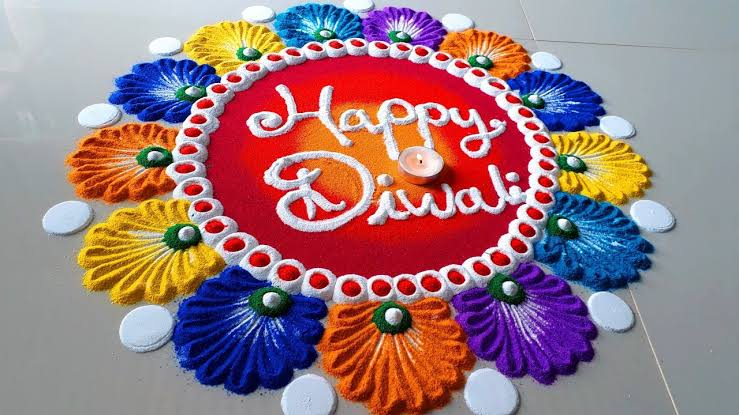 Rangoli designs for diwali 1
