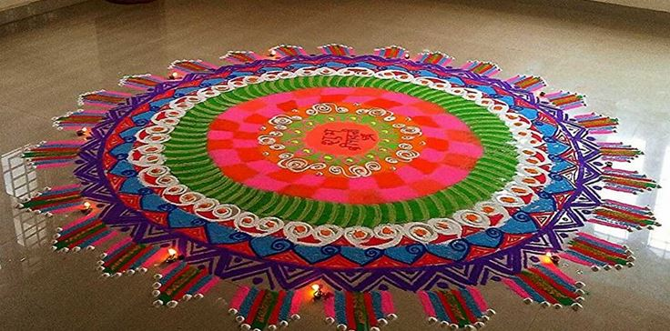Rangoli designs for diwali 14