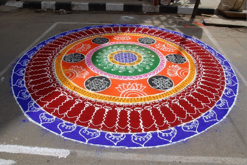 Rangoli designs for diwali 16