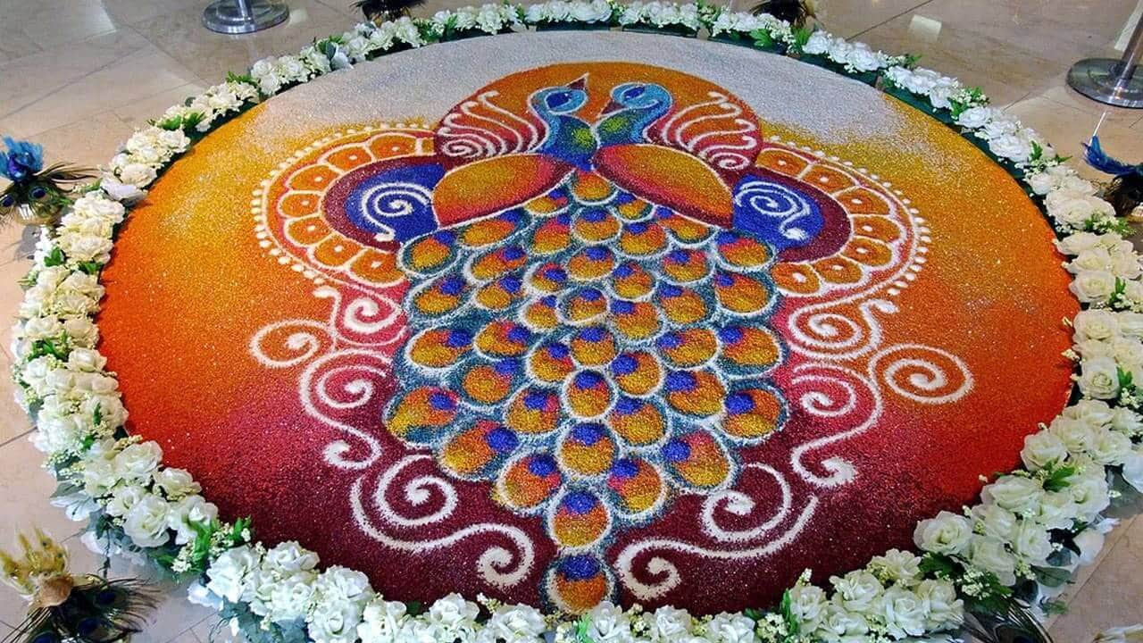 Rangoli designs for diwali 17