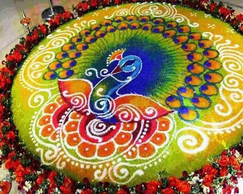 Rangoli designs for diwali 18