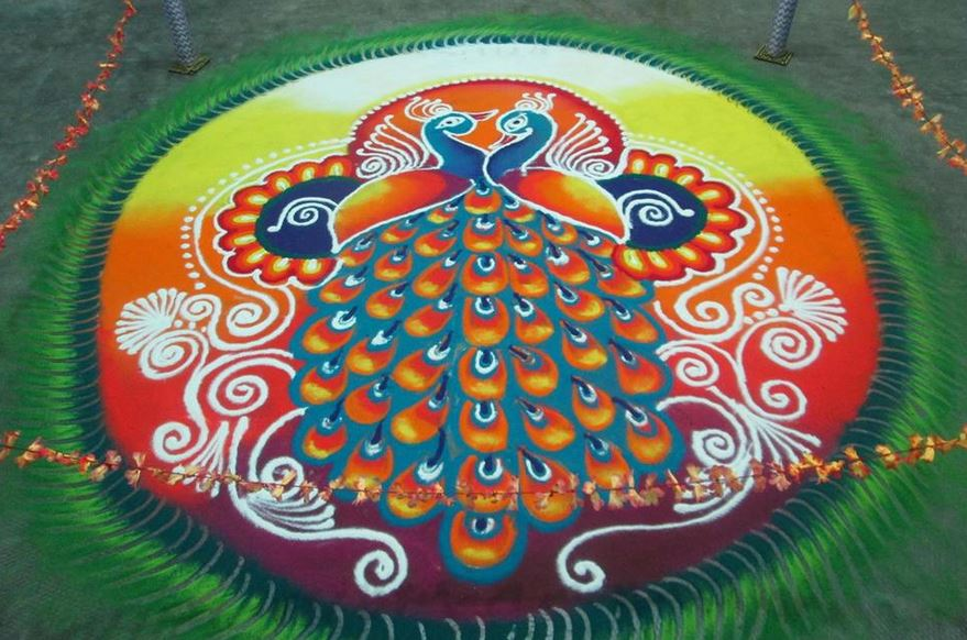 Rangoli designs for diwali 19