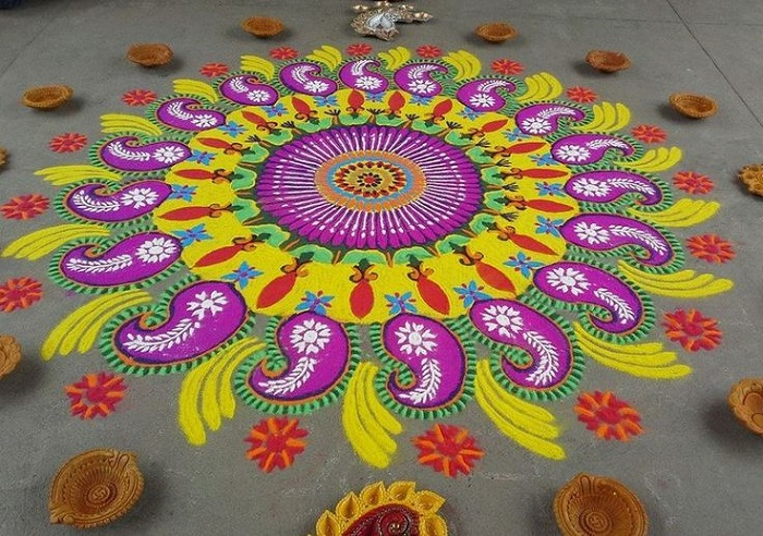 Rangoli designs for diwali 20