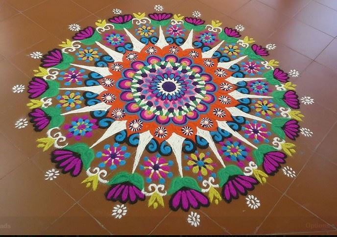 Rangoli designs for diwali 21