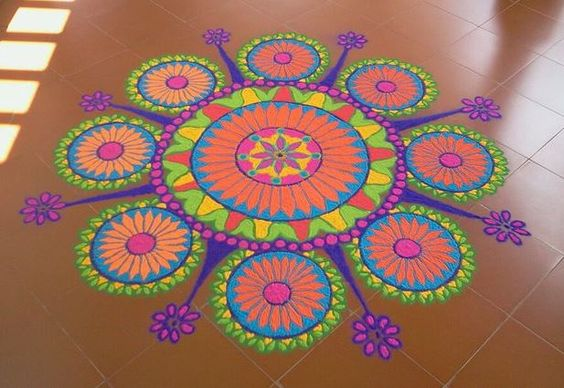 Rangoli designs for diwali 22