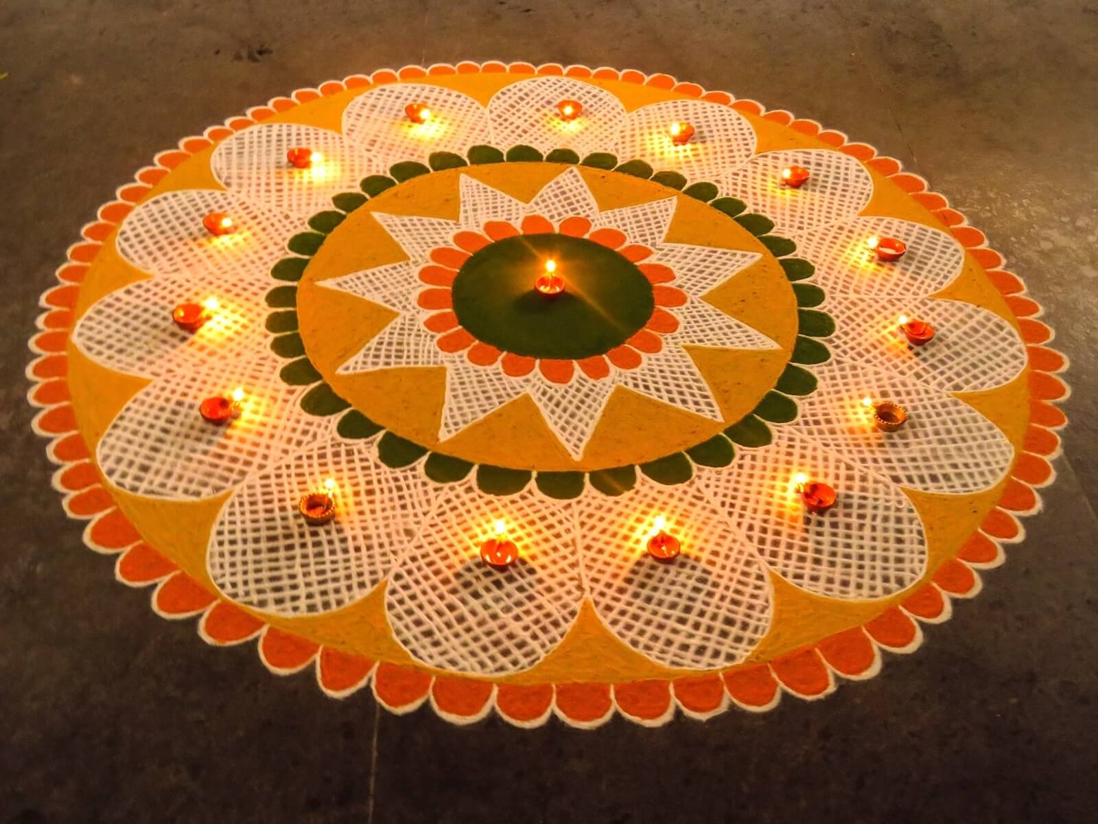 Rangoli designs for diwali 24