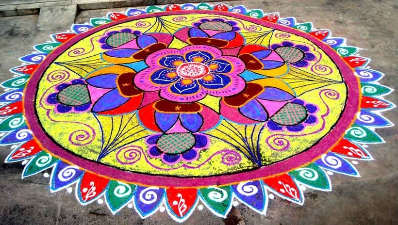 Rangoli designs for diwali 26