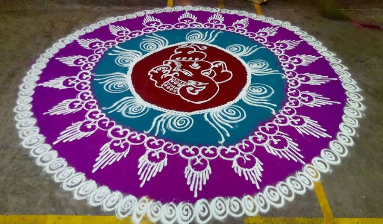 Rangoli designs for diwali 30