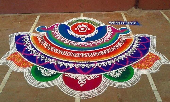Rangoli designs for diwali 32