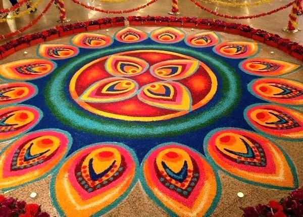 Rangoli designs for diwali 34