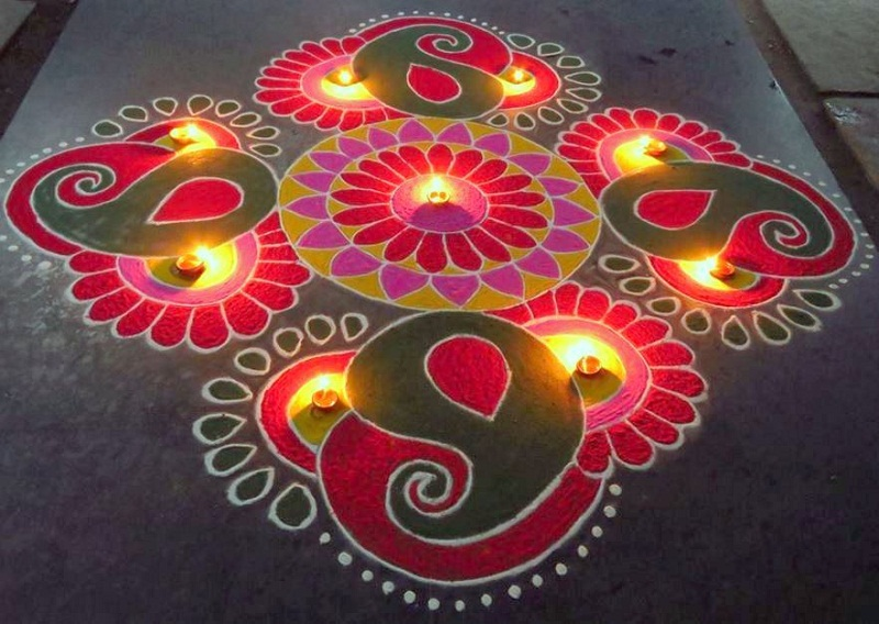 Rangoli designs for diwali 35