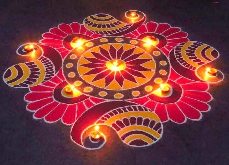 Rangoli designs for diwali 36