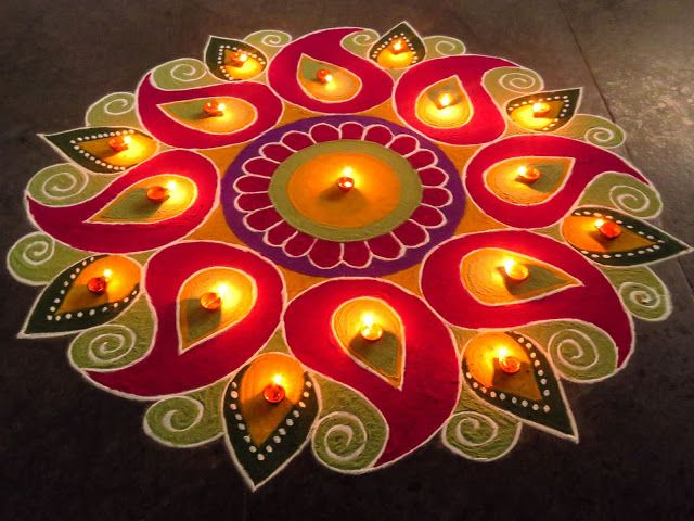 Rangoli designs for diwali 37