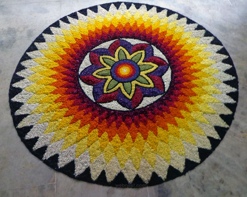 Rangoli designs for diwali 43