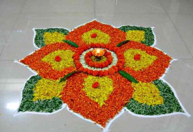 Rangoli designs for diwali 5