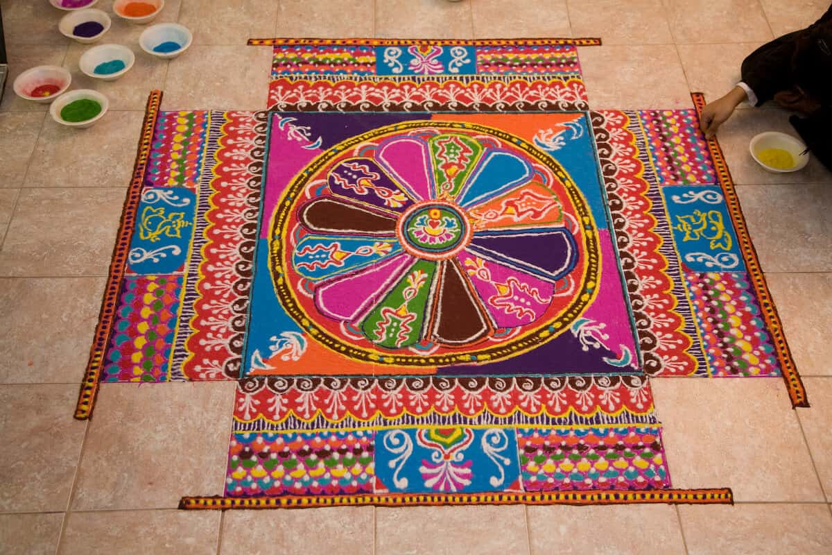Rangoli designs for diwali 50