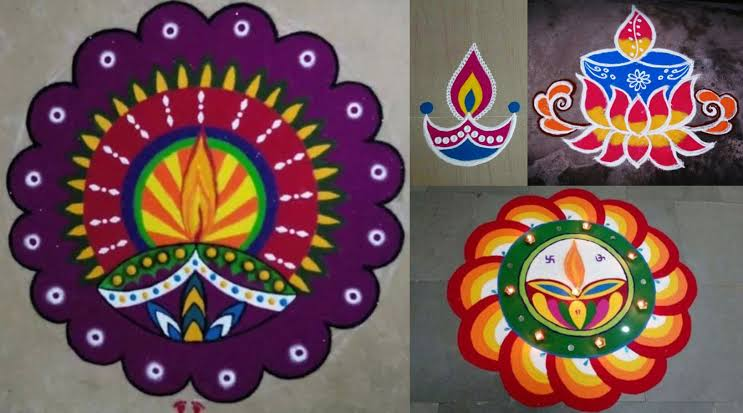 Rangoli designs for diwali 7