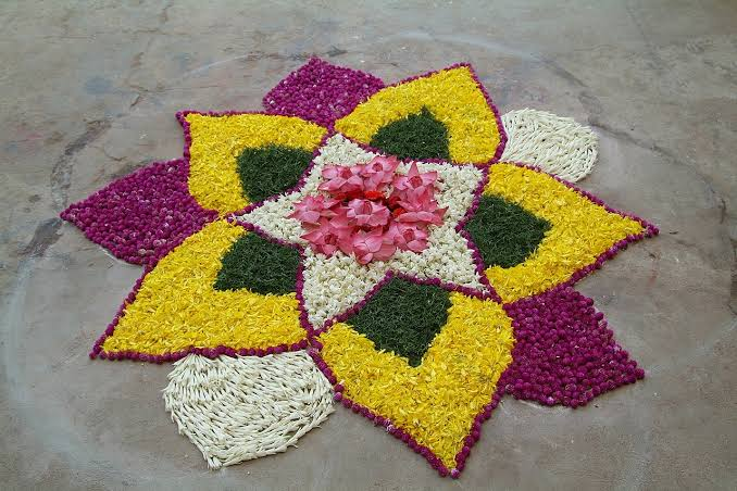 Rangoli designs for diwali 9