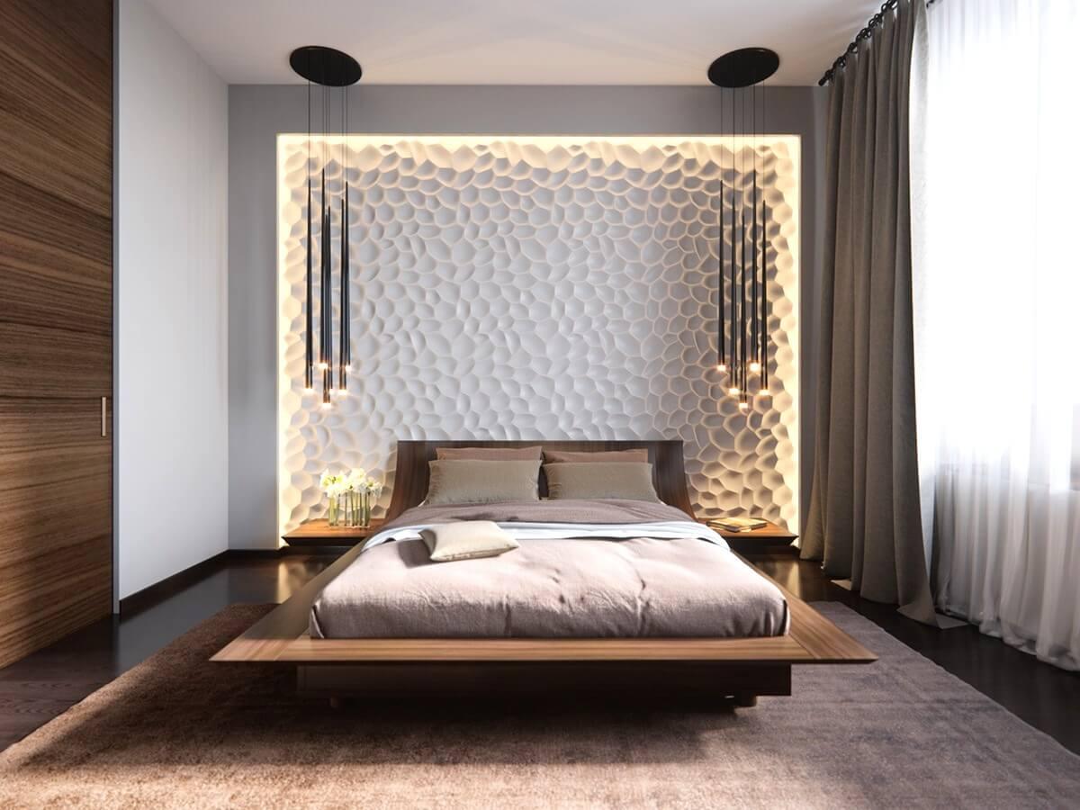 Small bedroom lighting designs 15