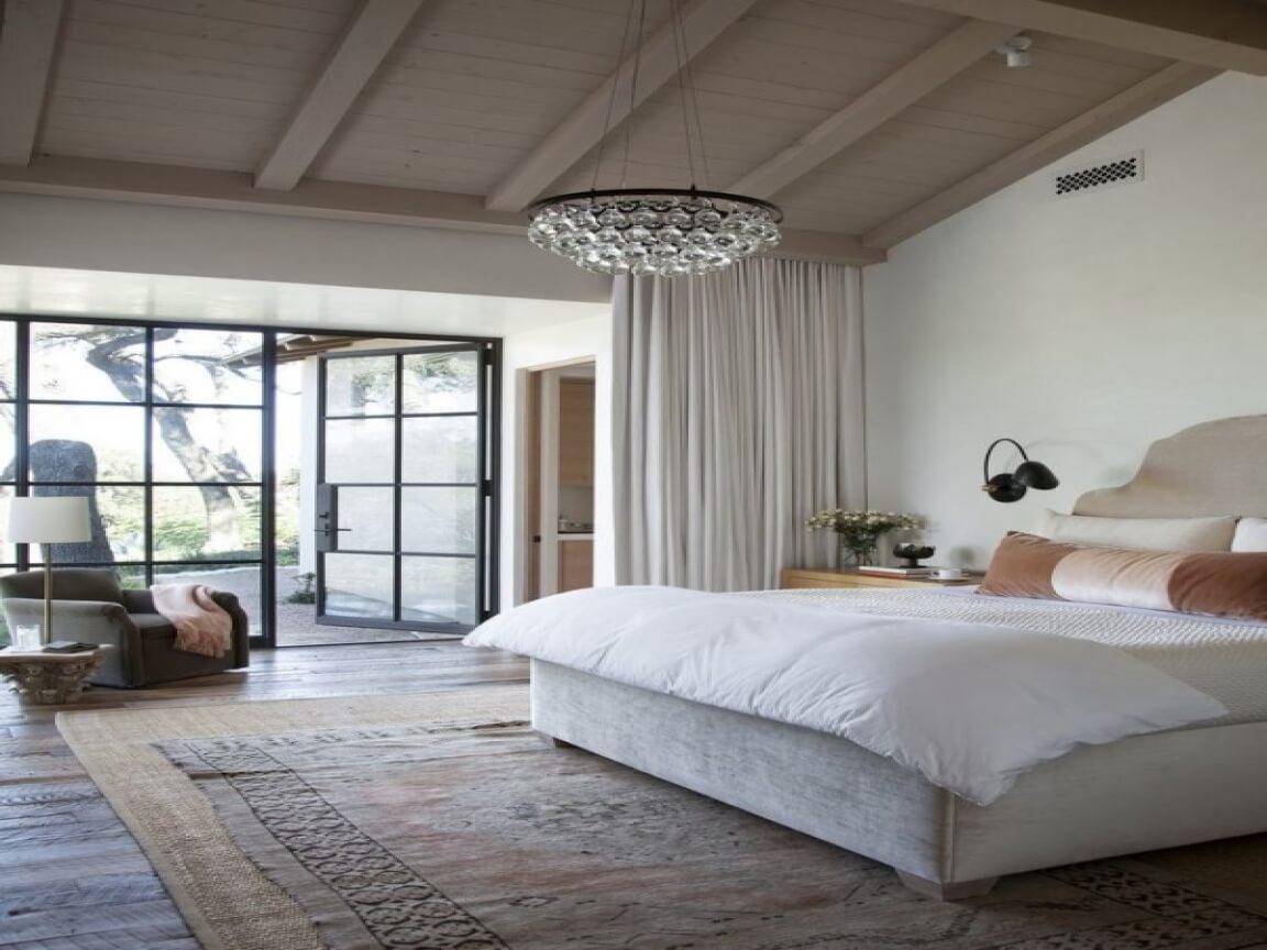 Small bedroom lighting designs 23