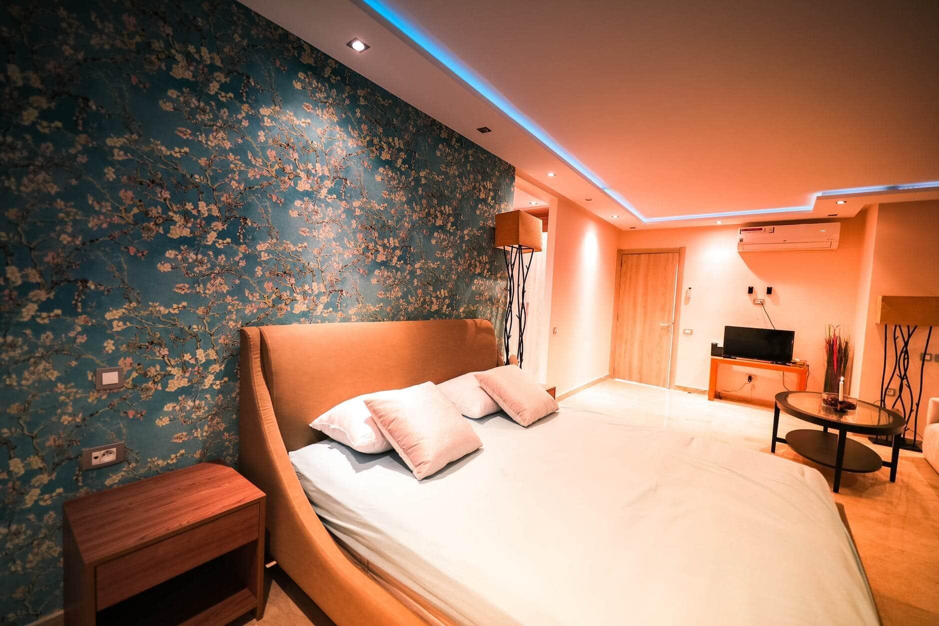 Small bedroom lighting designs 28