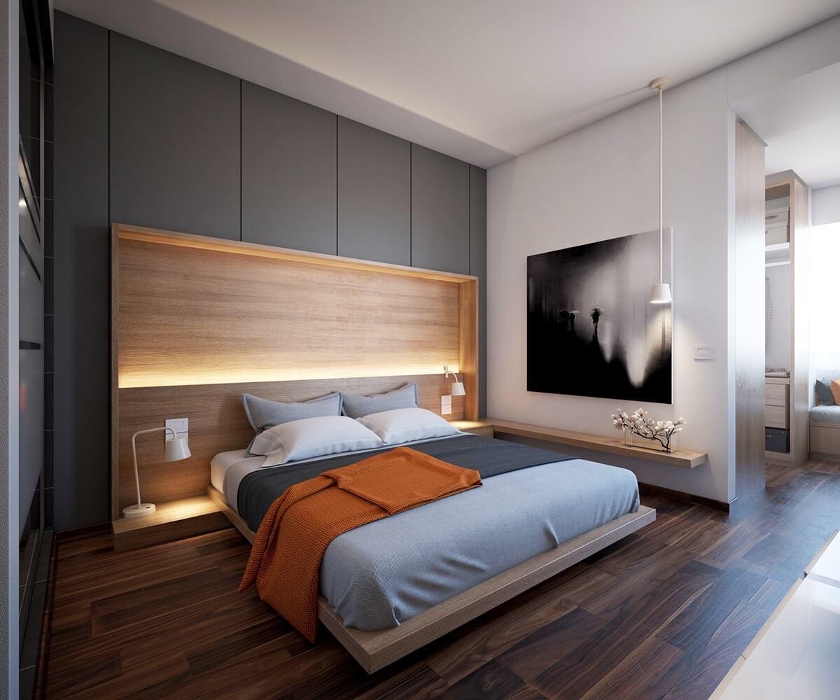 Small bedroom lighting designs 3