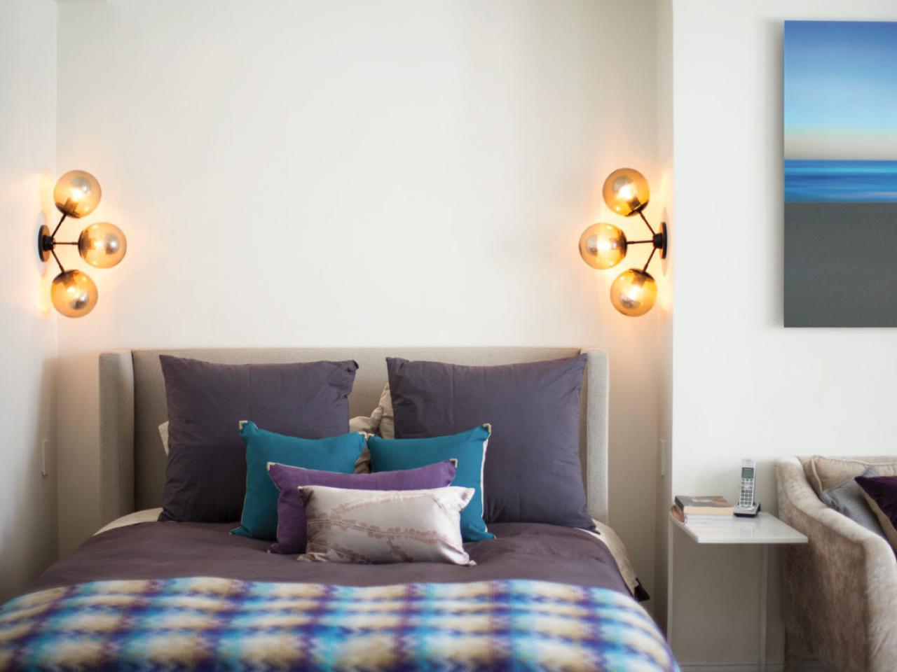 Small bedroom lighting designs 7