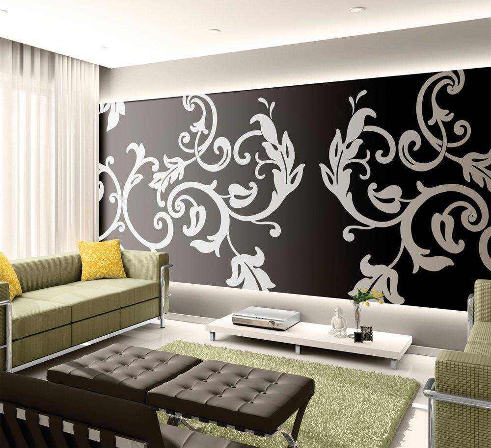 Stencil Wall Painting13
