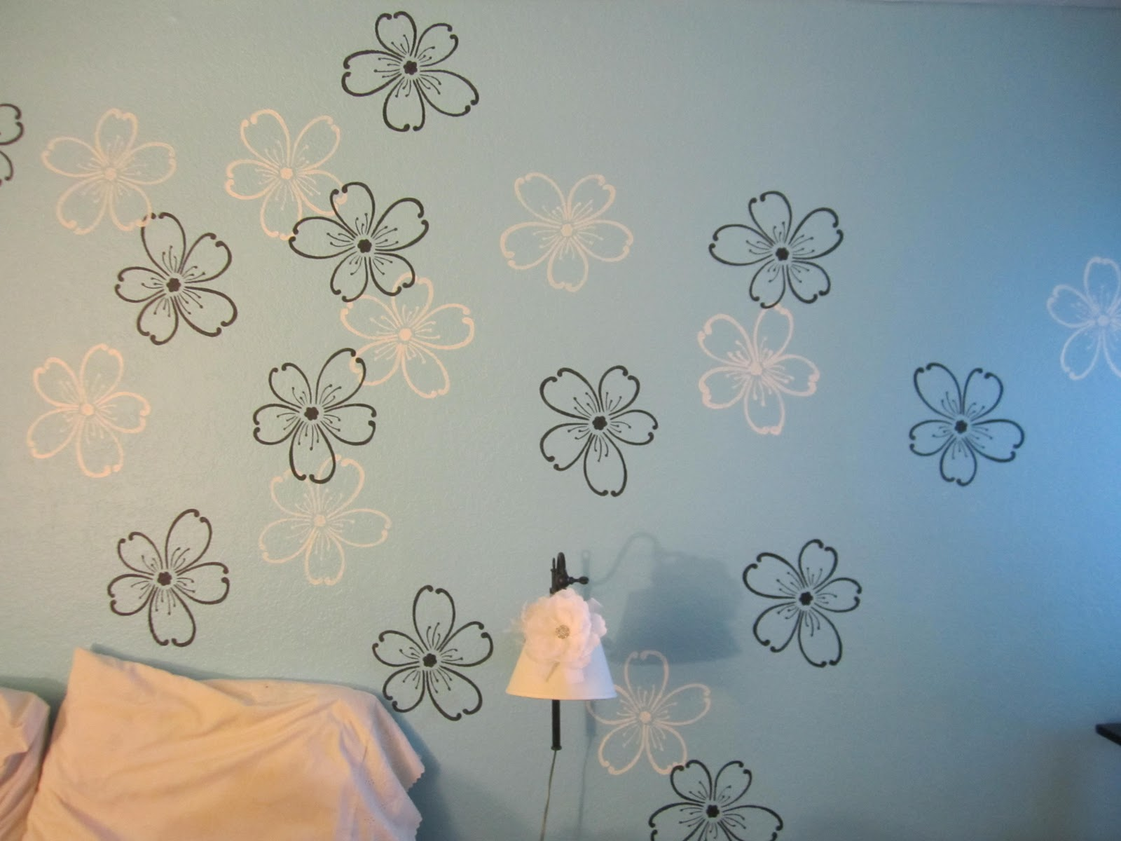 Stencil Wall Painting4