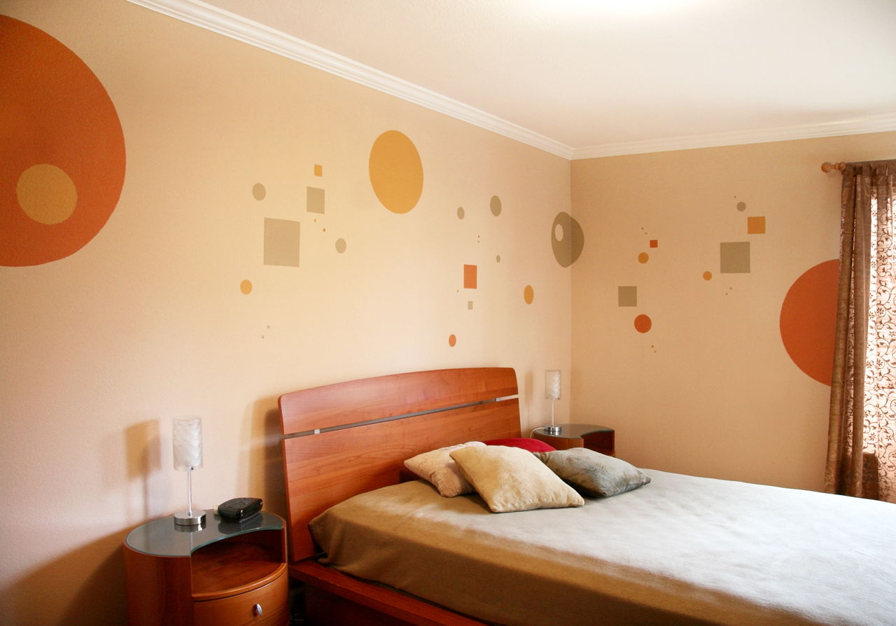 Stencil Wall Painting6