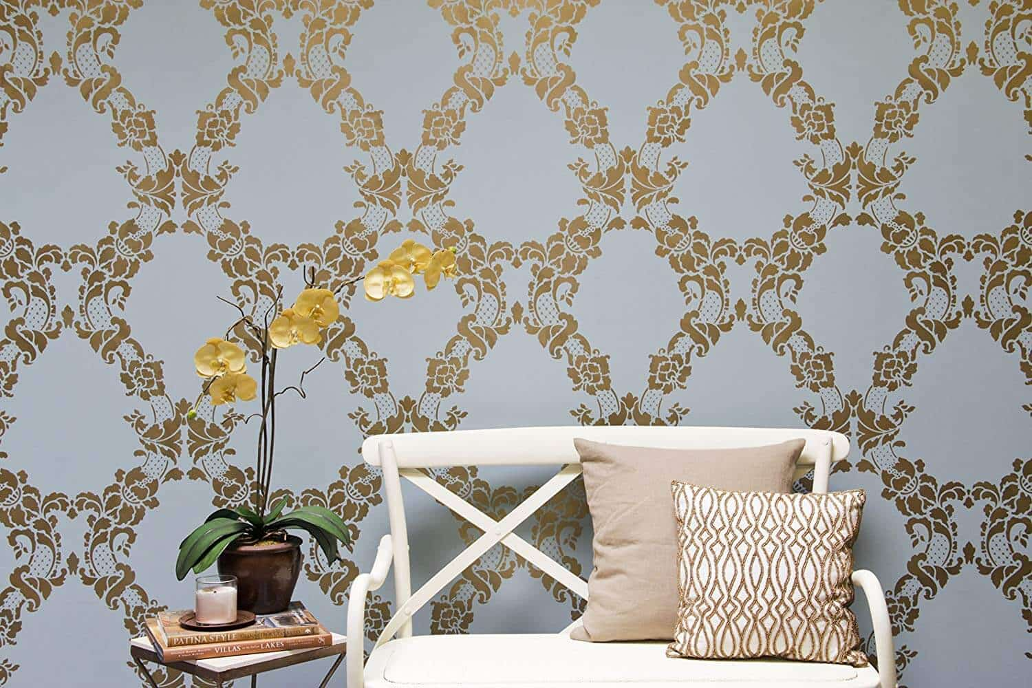 Stencil Wall Painting9