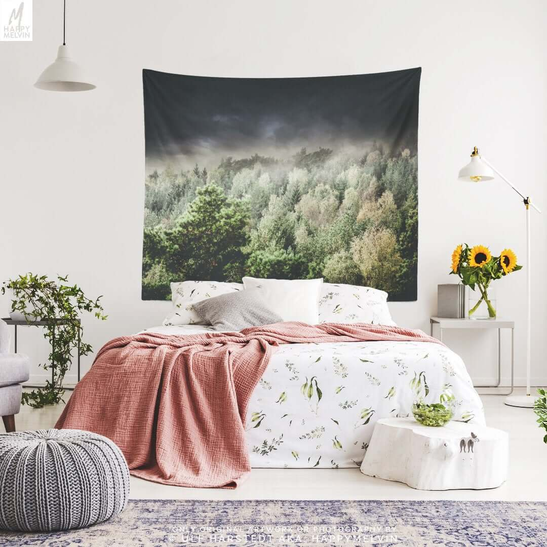 Tapestry Bedroom decor 13