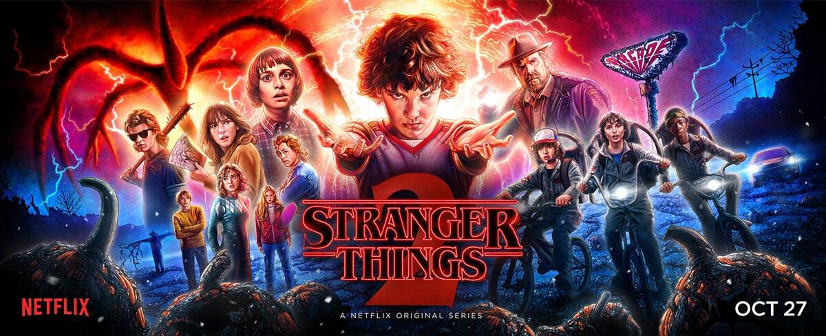 The Stranger things 2-min