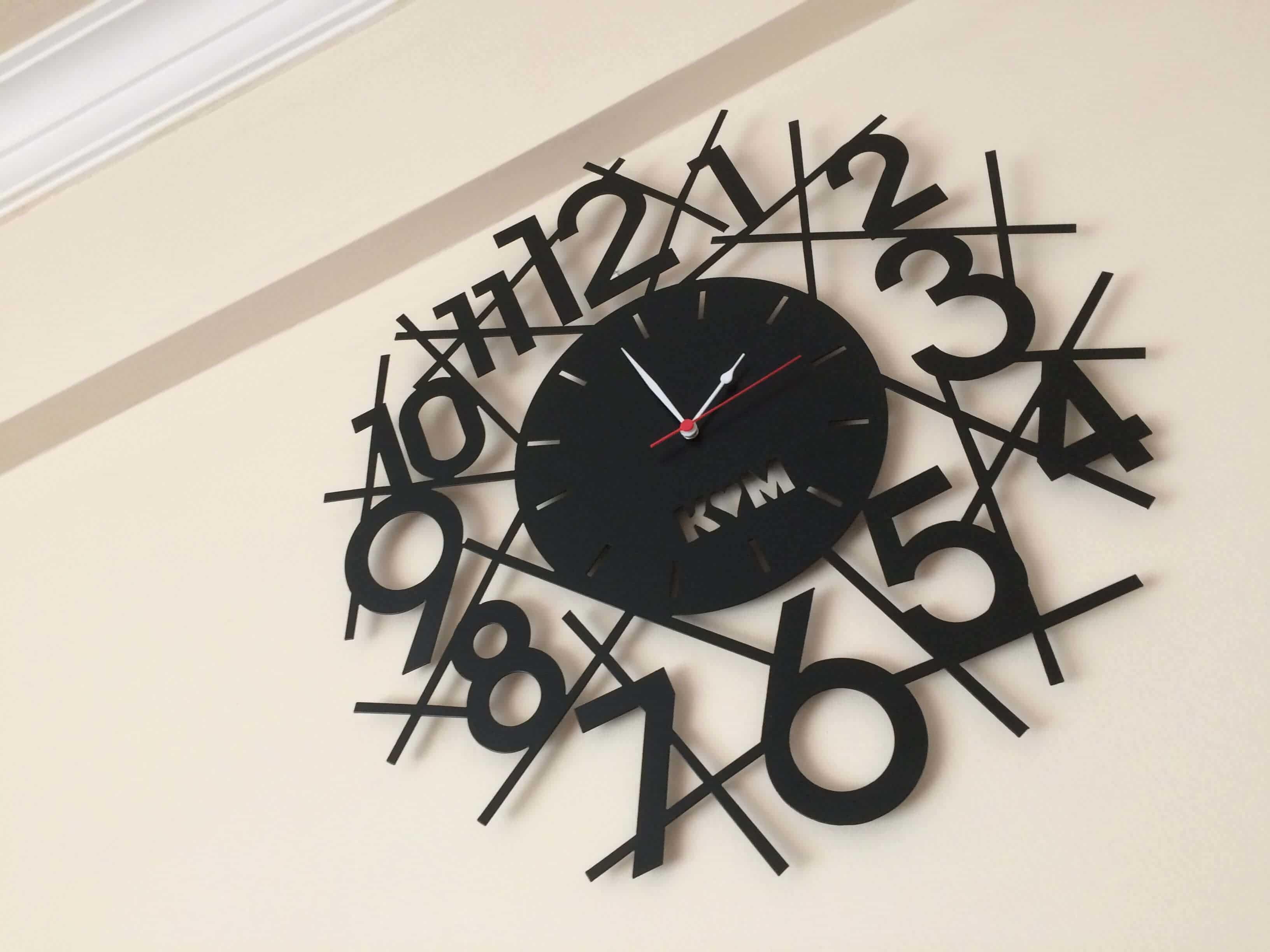 Wall clock 12
