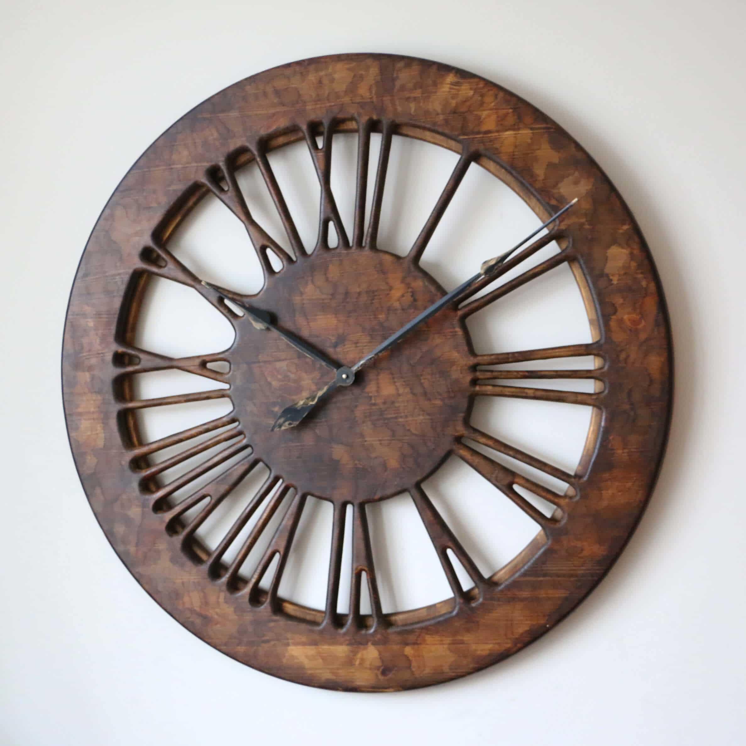 Wall clock 19